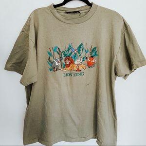Vintage Lion King Disney Single Stitch T-Shirt